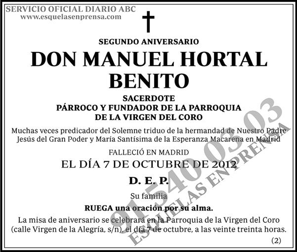 Manuel Hortal Benito